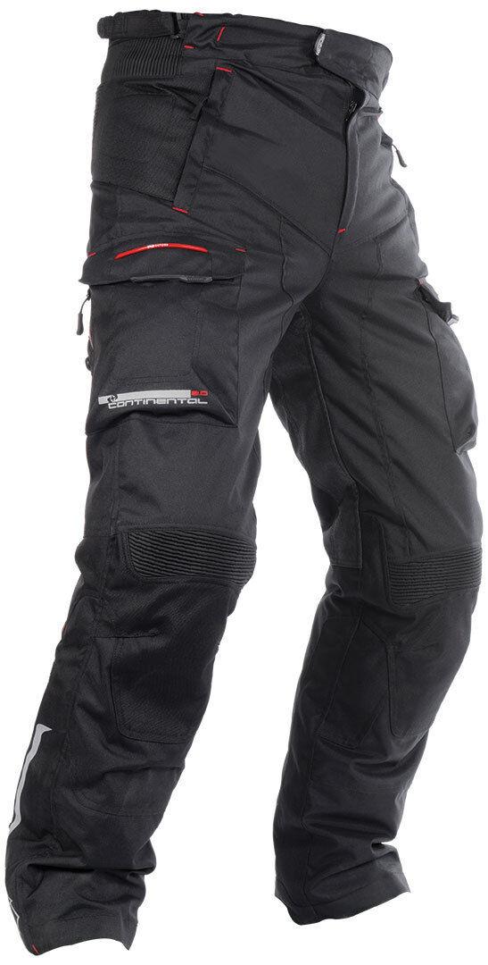 Oxford Continentel 2.0 Pantalones Textiles para Motocicletas Negro 4XL