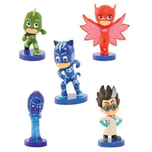 Bandai PJ Masks - Mini Figuras Coleccionables Deluxe