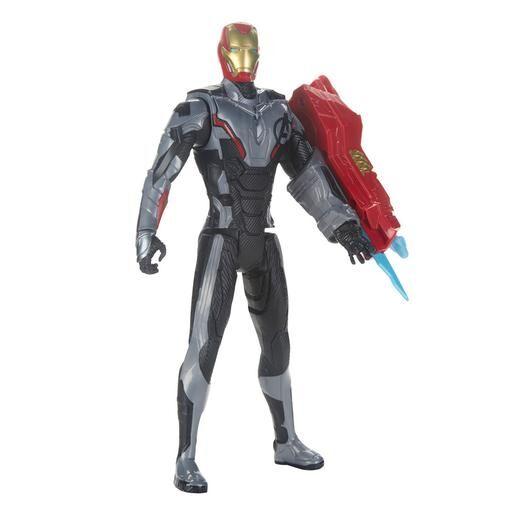 Hasbro Los Vengadores - Iron Man - Figura Titan Hero Power FX 2.0