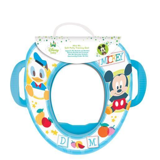 STOR Disney baby - Mickey Mouse - Adaptador de WC con Asas (varios modelos)