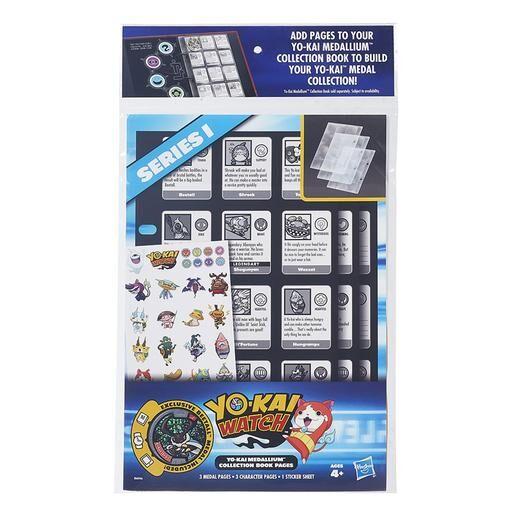 Hasbro Yo-Kai - Páginas Coleccionables �lbum Medallium (varios modelos)