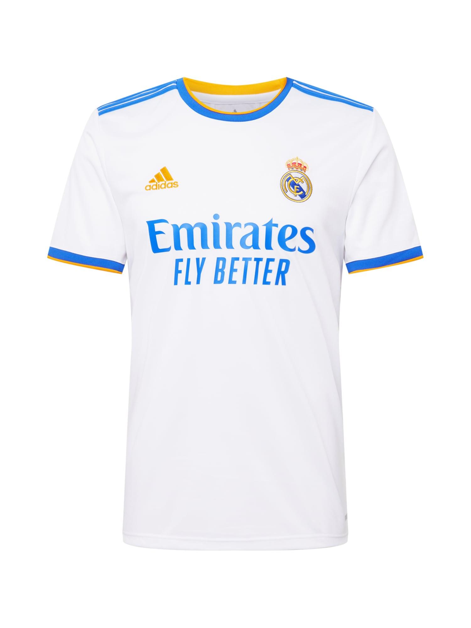ADIDAS PERFORMANCE Camiseta de fútbol  Real Madrid  Blanco