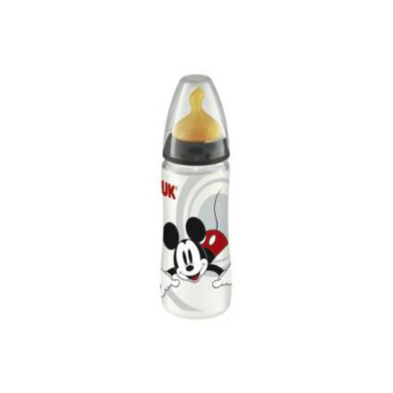 NUK BIBERÓN LÁTEX DISNEY MICKEY 0-6 M 300 ML