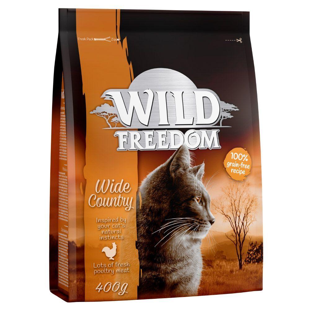 Wild Freedom pienso para gatos - Pack de prueba mixto - 4 x 2 kg: ave, salmón, pato y cordero