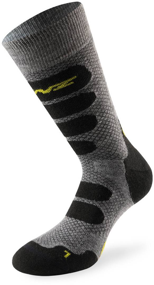 Lenz X Country 2.0 Socks Calcetines Negro Gris 45 46 47