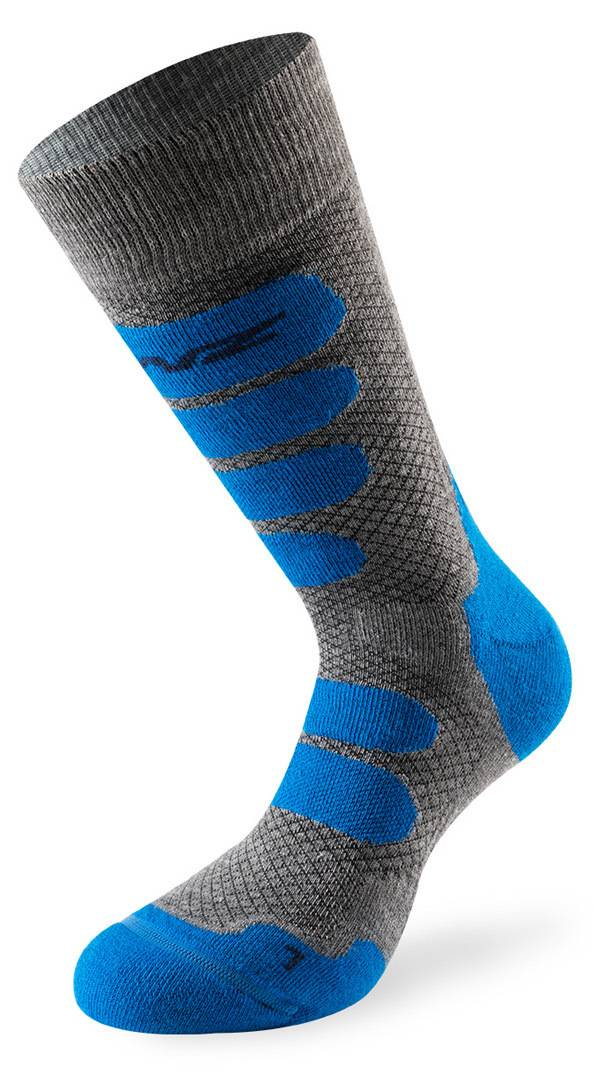 Lenz X Country 2.0 Socks Calcetines Gris Azul 45 46 47