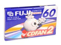 Fujifilm Cinta De Cassette Virgen Fuji Cdfan2 60 A - 60 Minutos - Type Ii