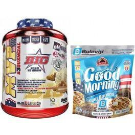 BIG Pack BIG MVP S3cuential 2 kg + Max Protein Harina de Avena Bulevip 500 gr Sabor Bombón Rocher