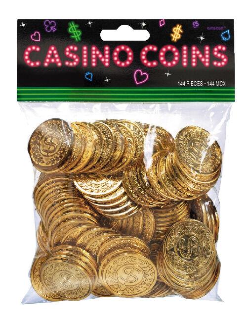 Monedas de Casino - 144 unidades