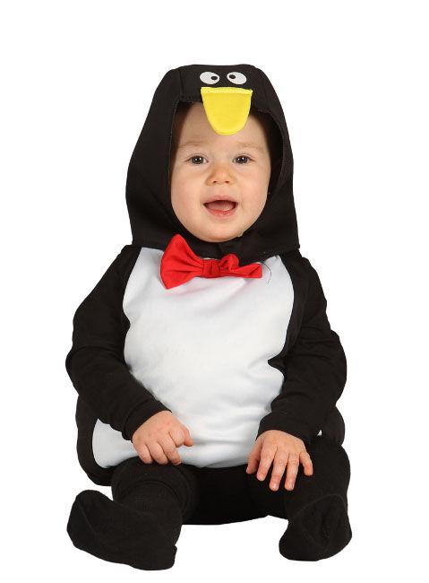 Guirca Disfraz de pingüino para bebé - Talla 6 a 12 meses