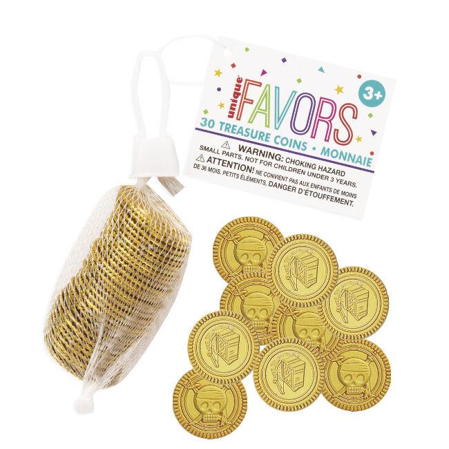 Monedas doradas - 30 unidades