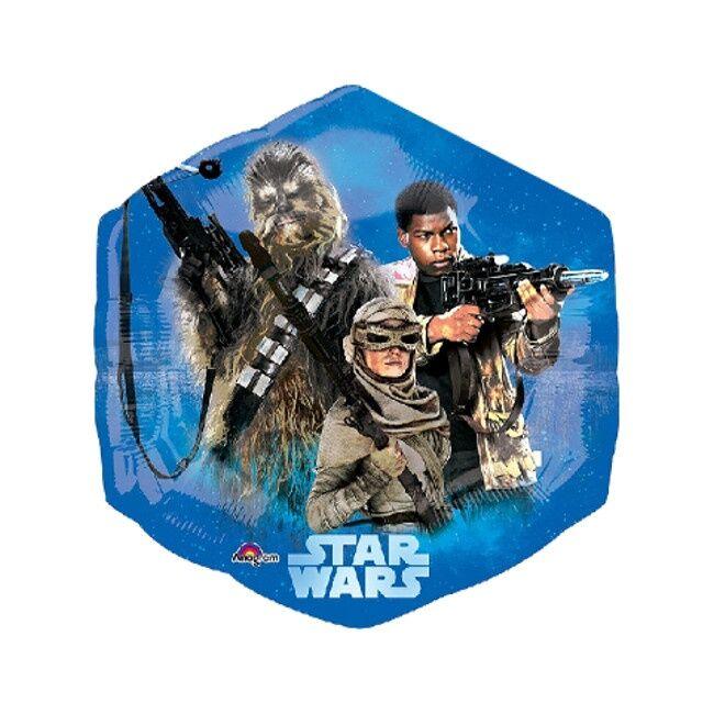 Globo hexágono de Star Wars - 55 x 58 cm