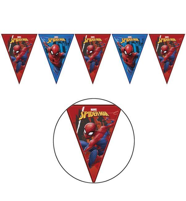 Banderín del increíble Spiderman - 2,3 m