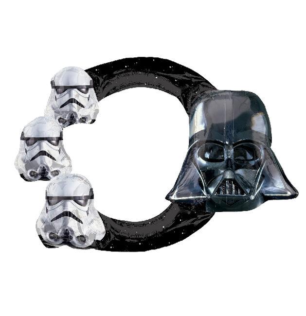 Marco para photocall hinchable de Star Wars - 73 x 53 cm