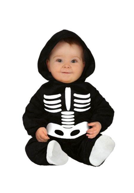 Guirca Disfraz de esqueleto para bebé - Talla 12 a 24 meses