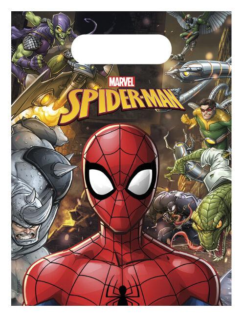 Bolsas del increíble Spiderman - 6 unidades