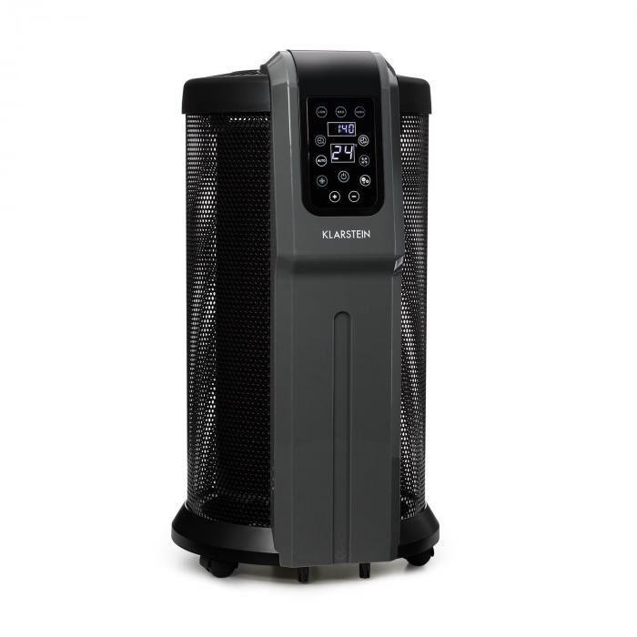 Klarstein Datscha Digital Calefactor Estufa Electrico 360° 2200W Termostato Mando a distancia Temporizador