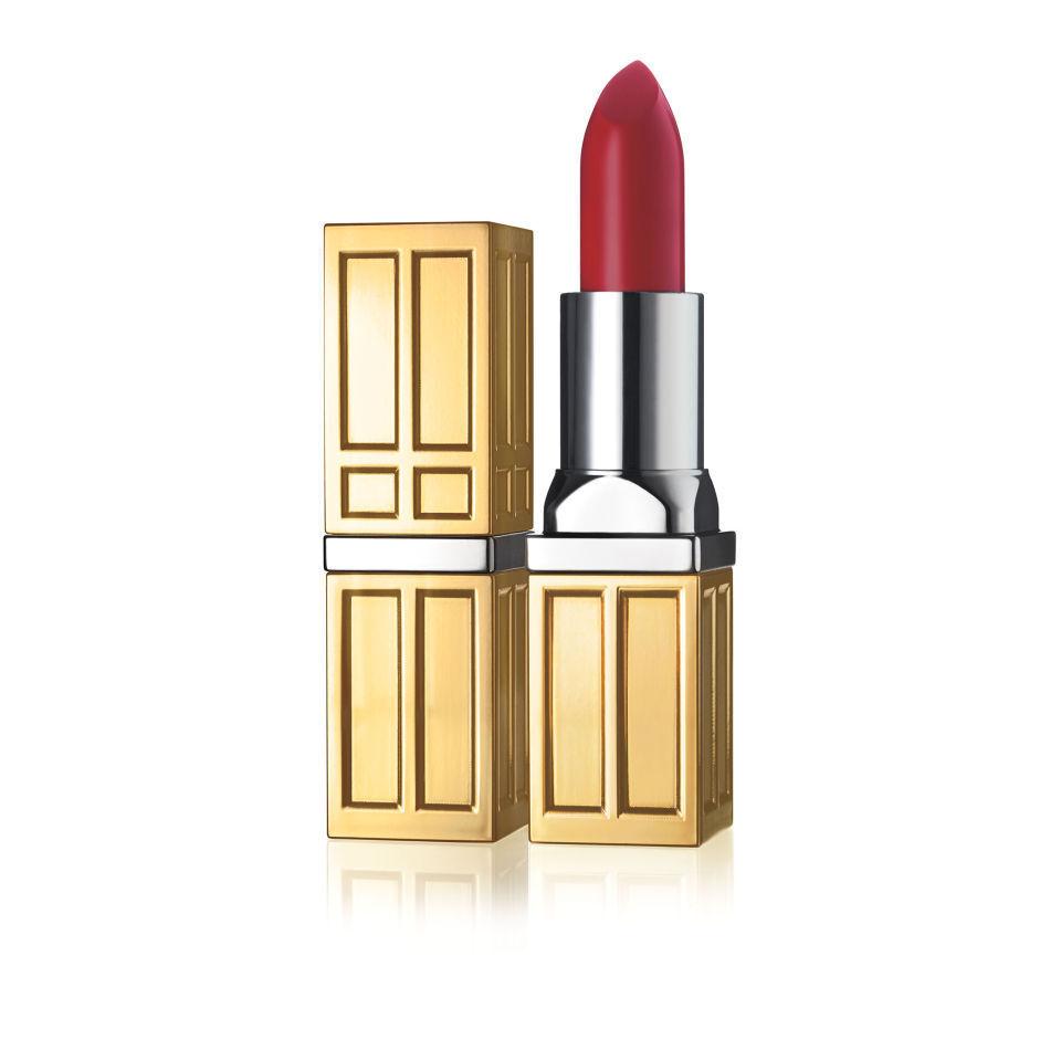 Elizabeth Arden Beautiful Color Moisturizing Lipstick con acabado mate de  (3,5 g) (varios tonos) - Bold Red