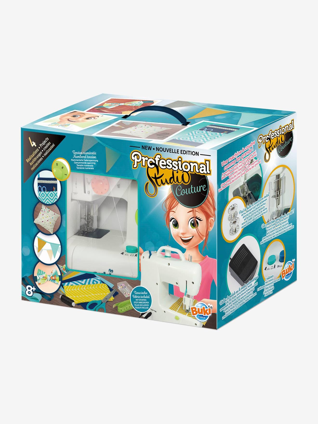 BUKI Máquina de coser «Professional Studio» BUKI blanco oscuro liso