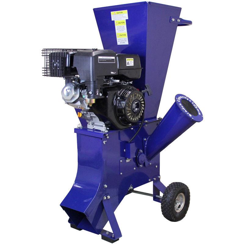 T-Mech - Trituradora de Ramas 15HP Gasolina para Destrucción de Ramas,