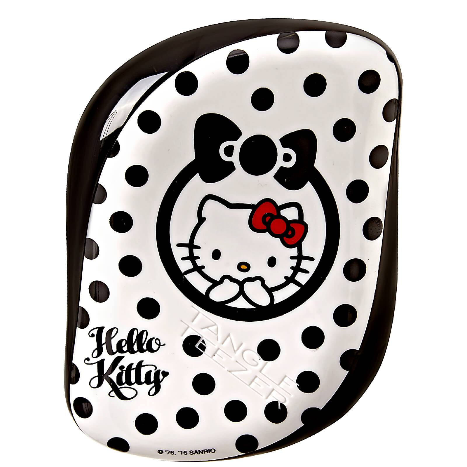 Tangle Teezer Cepillo de Pelo Compact Styler Hello Kitty de  - Negro/Blanco