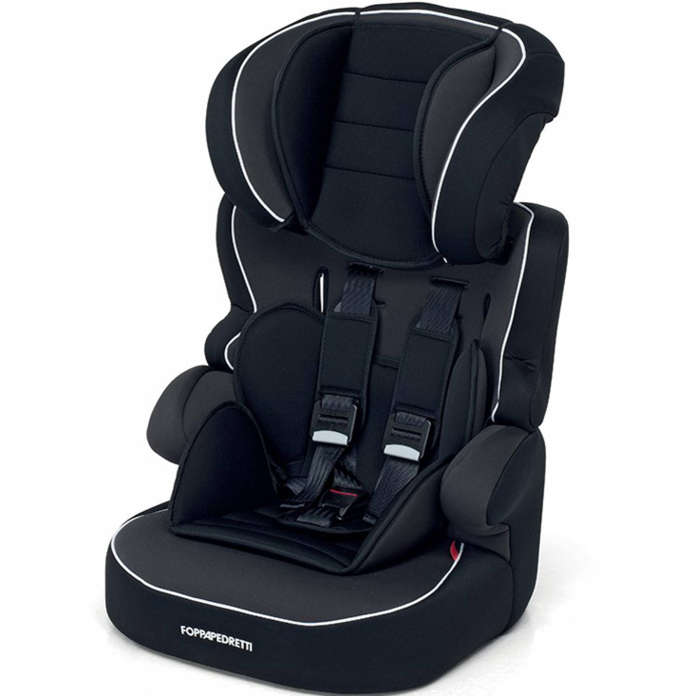 Foppapedretti Babyroad, Silla de coche grupo 1/2/3, negro