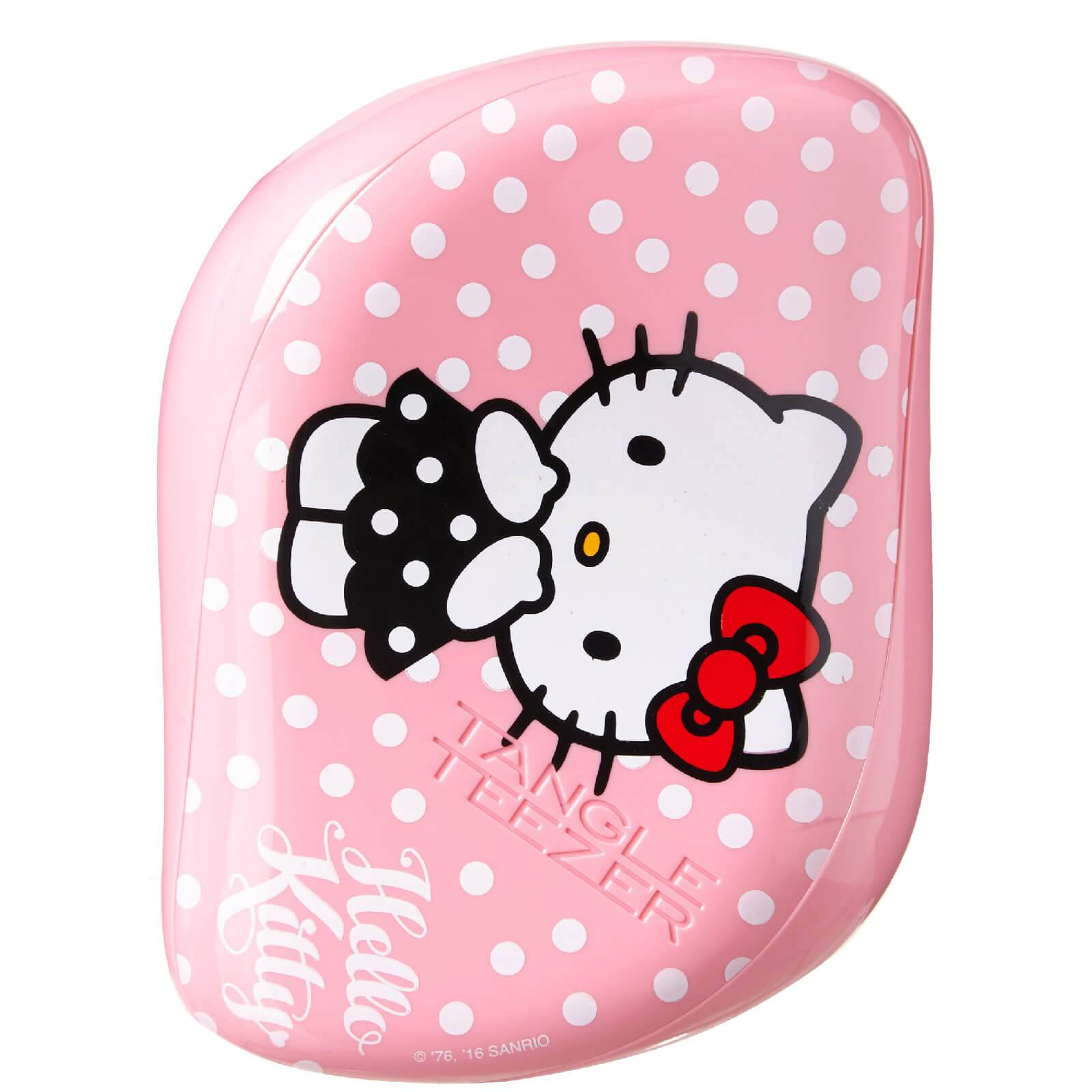 Tangle Teezer Cepillo de Pelo Compact Styler Hello Kitty de  - Rosa