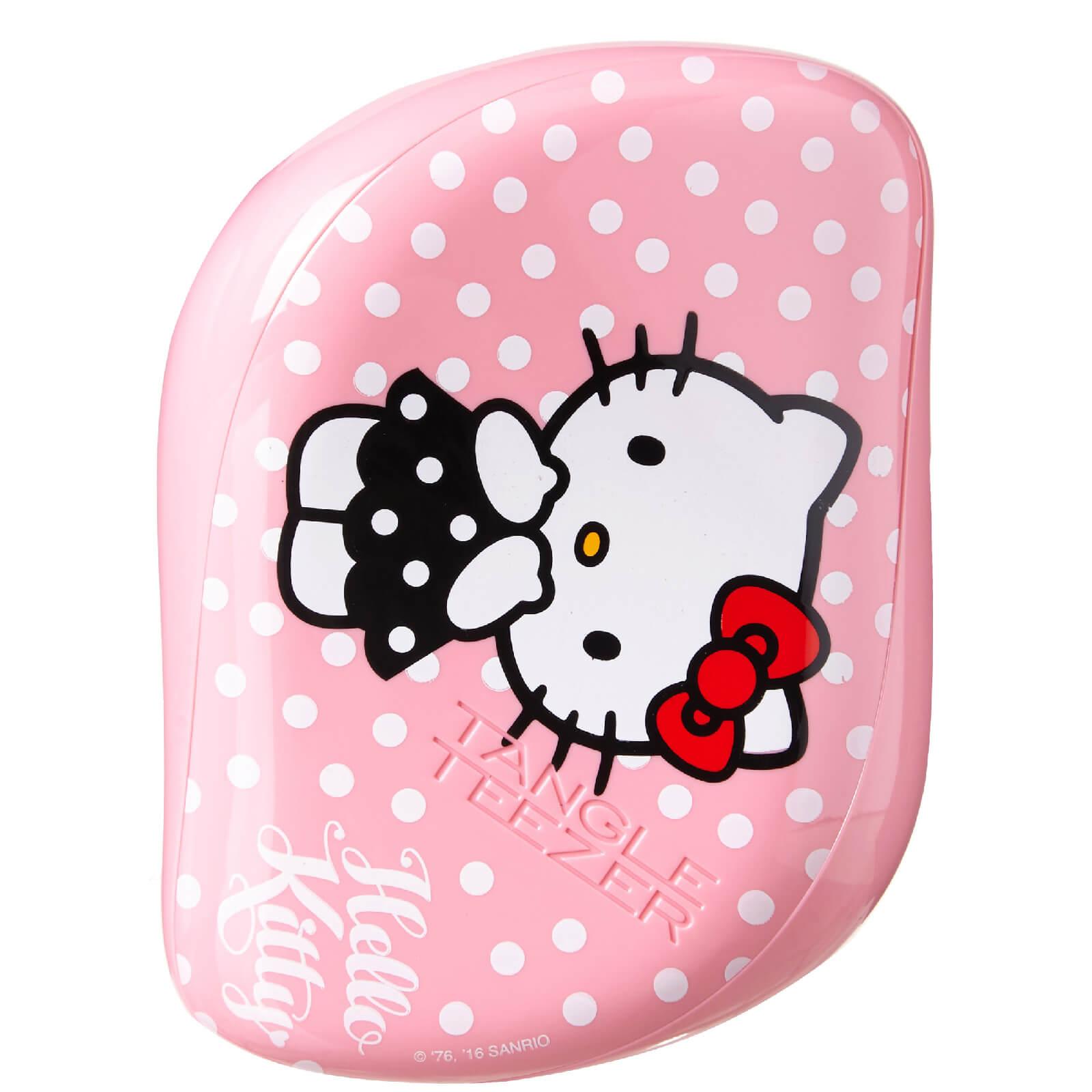 Tangle Teezer Cepillo de Pelo Compact Styler Hello Kitty de - Rosa