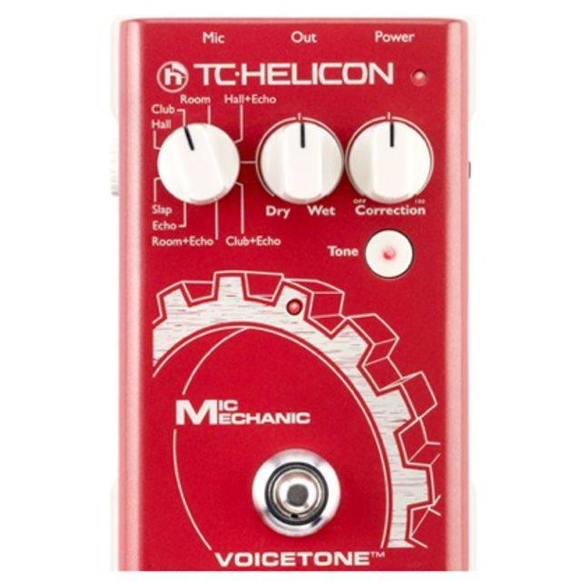 TC-Helicon Mic Mechanic Vocal Toolbox