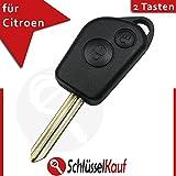 Citroen 2botones llave de coche mando a distancia Picasso Berlingo Xsara Repuesto Nuevo