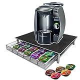 JJOnlineStore - Cajón de almacenamiento, organizador para 36cápsulas de café para cafetera Dolce Gusto, Tassimo, Nespresso