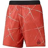 Reebok RCF Super Nasty Speed Pantalón corto RCF Renton Crossfit, Hombre, Naranja (Carote), S