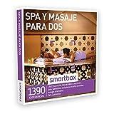 SMARTBOX - Caja Regalo - SPA Y MASAJE PARA DOS - 1390 experiencias como spas, balnearios, circuitos termales, masajes orientales...