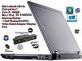 """Dell Latitude E6410 - Portátil de 14.1"""" (Intel Core i5 560M, 4 GB de RAM, 160 GB, Intel HD Graphics, Windows 7 Professional), negro [Importado]"""