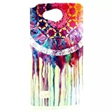 Fundas y estuches para teléfonos móviles, cubierta de la funda de caucho de silicona caso suave patrón de colores TPU para LG alegría J220 ( Patrón : I , Talla : LG Joy J220 )