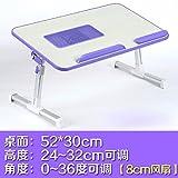 Cama con escritorio del ordenador portátil, mesa lazy, escritorio plegable y abatible, escritorio dormitorio college,6