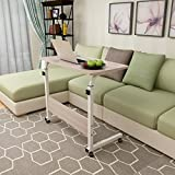 KHSKX Moda abatible portátil de mesa, cama extraíble elevación escritorio , Maple color