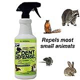 defensa de roedores pequeños animales de todo elemento de disuasión natural y spray repelente 0.9L para las ardillas, conejos, ratas, gatos y más!