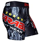 MMA vale tudo short grappling fight training match compression tight by Farabi (SMALL)