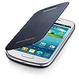 Samsung Flip - Funda para móvil Galaxy S3 Mini (Permite hablar con la tapa cerrada, sustituye a la tapa trasera), azul