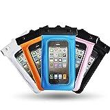 "Theoutlettablet® Funda acuática sumergible de protección para Smartphone i-Joy I-call 504 5"""