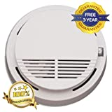 Premium Smoke Fire Alarm Detector, Smoke Warning With Photoelectric Sensor, Battery Operated- 3 Years Free Guarantee! by Super TV Products 14