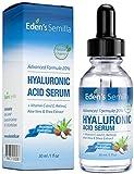 Ácido Hialurónico Serum - 30ml - Es el mejor anti-edad hidradante para el cutis. Ayuda a reducir las arrugas faciales. Contiene Vitamina C, Retinol, y Vitamina E. Proteccíon antioxidante que facili...