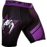 Venum Hombre Vale Tudo Pantalones Cortos Rapid, todo el año, hombre, color Negro - negro / violeta, tamaño L