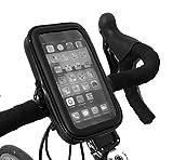 TheVery® originales - montaje de la bici, Smartphone Holder, titular del teléfono móvil para el manillar - resistente al agua - 75x135x25mm al aire libre - Interior: 65x125x20mm