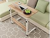 BBSLT-Moda abatible portátil de mesa, cama extraíble elevación escritorio , Oak color