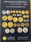 Catálogo de subastas de monedas de Martí Hervera y Soler y Llach. Diciembr 2014.