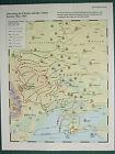 WW2 Segunda Guerra Mundial Mapa ~ Liberating The Ucrania & Crimea Jan-May 1944