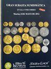 Catálogo de subastas de monedas de Martí Hervera y Soler y Llach. Mayo de 2012.