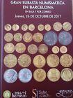 Catálogo de subastas de monedas de Martí Hervera y Soler y Llach. Octubre 2017.